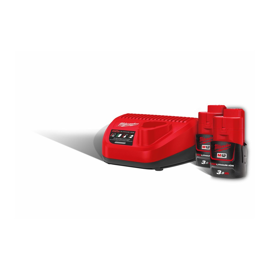 Milwaukee M12 NRG-302 Batterisett 3.0Ah